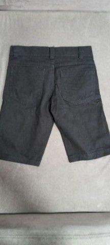 Bermudas jeans e preta infantil - Foto 3