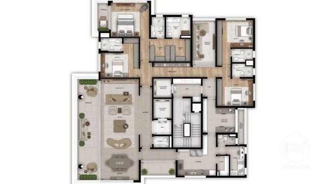 Apartamento Ibirapuera Alto Padrão, 4 Dorm, 4 Suítes, 5 Vagas + Depósito, Lazer Completo - Foto 8