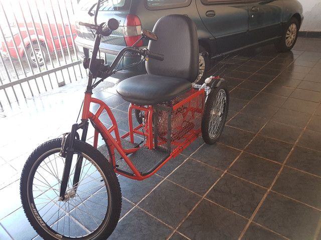 Triciclo motorizado 49cc 4t - Foto 2