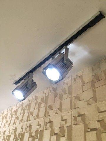 Luminária teto trilho - Foto 2