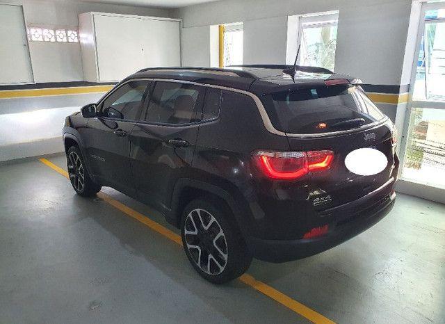 Jeep Compass Limited Diesel com Teto Solar, Park Assist (estaciona sozinho), 18/18 - Foto 16