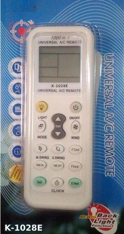 Controle de ar condicionado universal modelos split