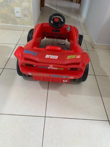 Carro pedal Relâmpago McQueen  - Foto 3