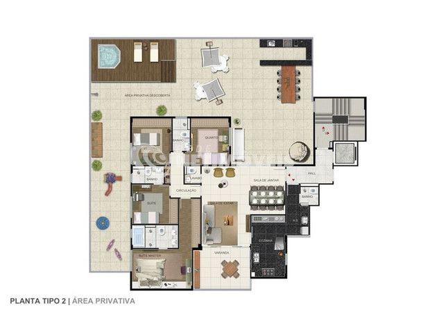 Apartamento à venda com 4 dormitórios em Ouro preto, Belo horizonte cod:641691 - Foto 16