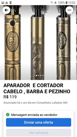 MÁQUINA DE CORTAR CABELO VINTAGE  - Foto 4