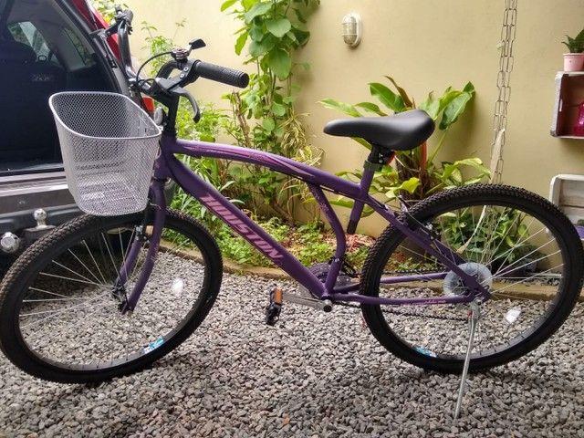 Bicicleta roxa/lilás aro 26 valor 650,00, aceito cartão falar com Andrei *
