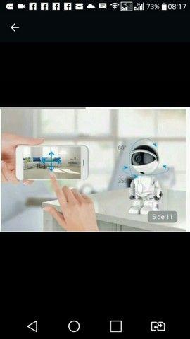 Cãmera Ip robô nova na caixa - Foto 3
