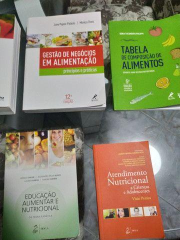 Livros de nutrição, vendo individual também - Foto 2