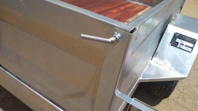 carreta galvanizada a pronta entrega  - Foto 3