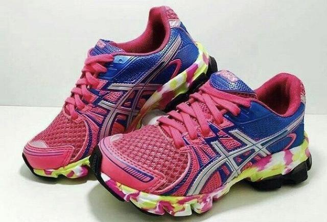 b4c344c6ef00f Tênis ASICS feminino Oferta importado rosa azul - Roupas e calçados ...