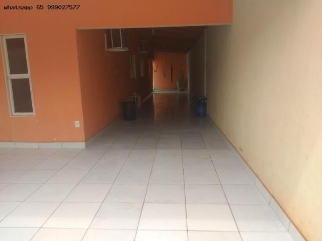 Casa para Venda em Várzea Grande, Ouro Verde, 3 dormitórios, 1 suíte, 3 banheiros, 4 vagas - Foto 3