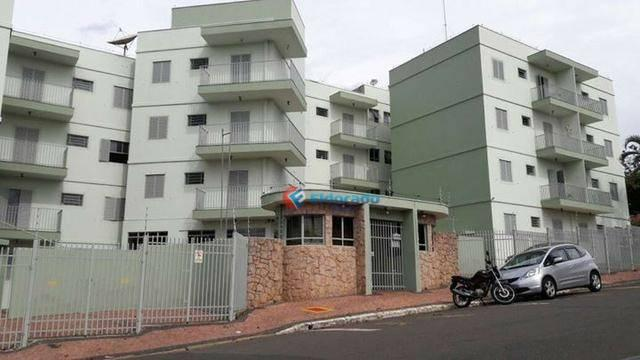 Apartamento com 2 dormitórios à venda, 56 m² por r$ 150.000 - jardim santa rosa - nova ode