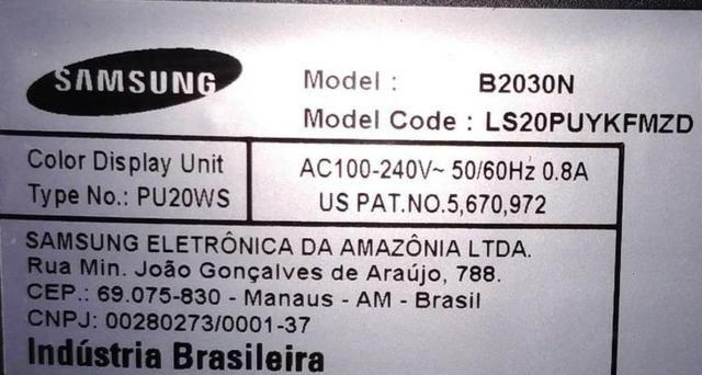 "Monitor LCD 20"" widescreen B2030N Samsung - Foto 4"