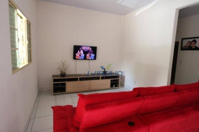 Casa com 3 dormitórios à venda, 125 m² por r$ 290.000,00 - residencial recanto do bosque - - Foto 6