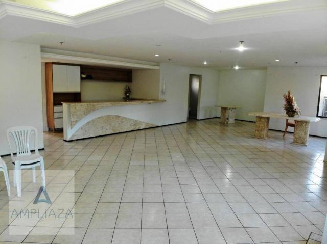 Apartamento com 3 dormitórios à venda, 128 m² por r$ 480.000 - de lourdes - fortaleza/ce - Foto 16