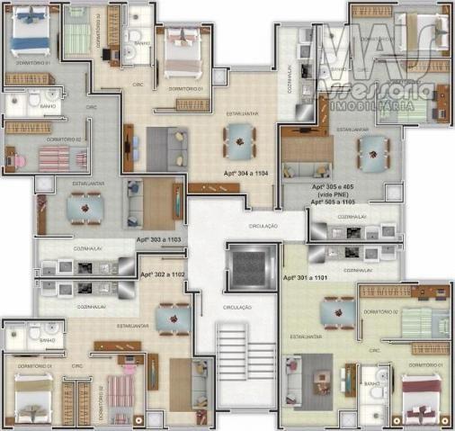 Apartamento para venda em novo hamburgo, centro, 2 dormitórios, 1 banheiro, 1 vaga - Foto 3