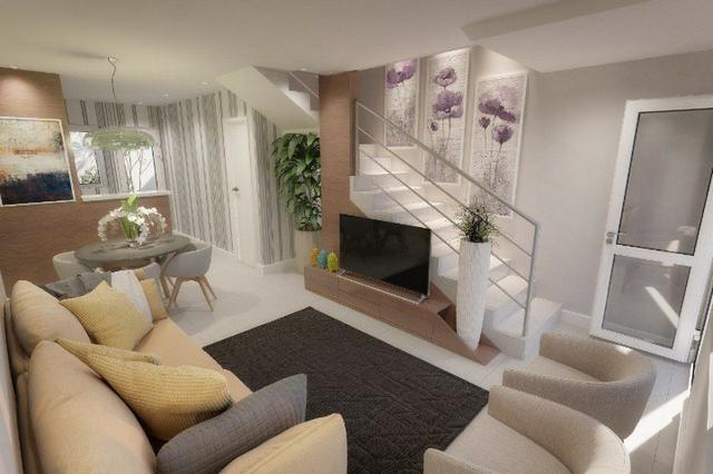 Casa Duplex - Lançamento - 64m² - 2 suítes -SN - Foto 5