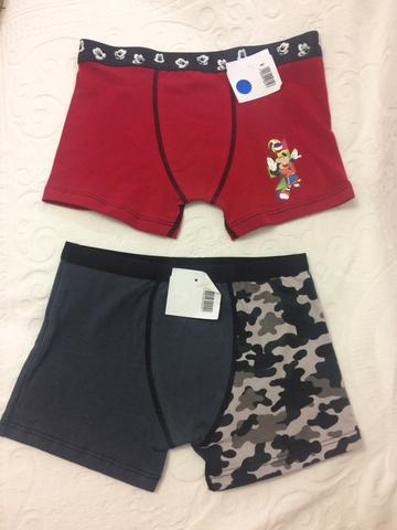 Cueca Boxer Infantil Lupo Disney