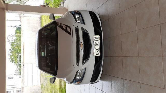 Carro Prisma LT 1.4 2015 completo, Banco de couro - Foto 3