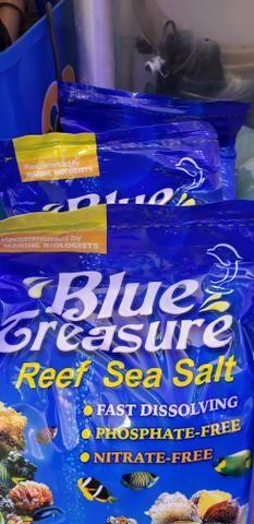Sal para aquario marinho