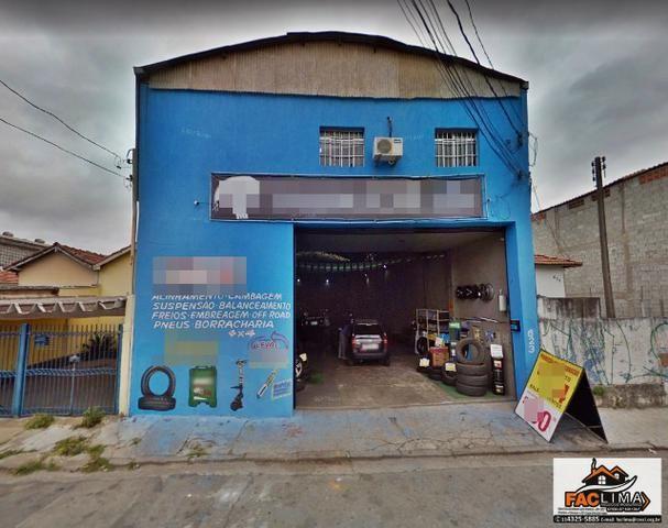 Galpão para locação - Rua Anhanguera - jardim Piratininga