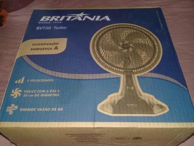 Ventilador de mesa da Britânia*novo*na caixa!