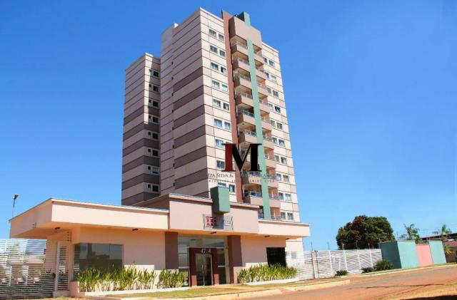 vendemos apartamento mobiliado com 2 quartos no Res Torre de Italia - Foto 3