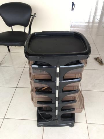 Carro auxiliar de cabeleireiro - Foto 3