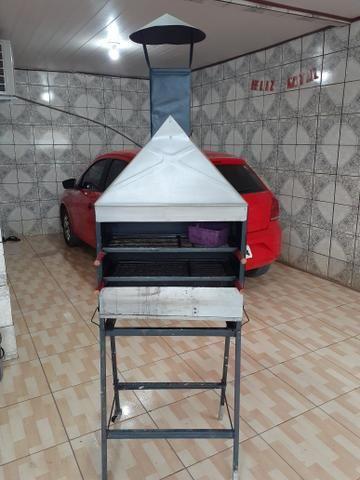 Vendo churrasqueira novinha. - Foto 3