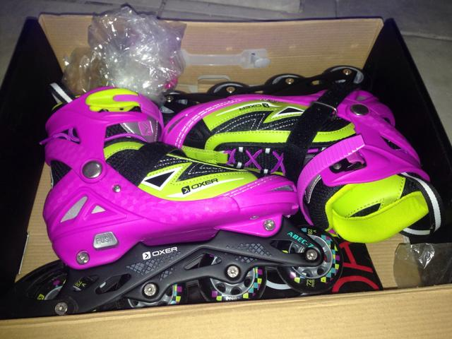 Patins INLINE Oxer Monster ABEC 7 - Foto 2