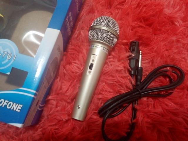 Microfone misaki com cabo - Foto 5