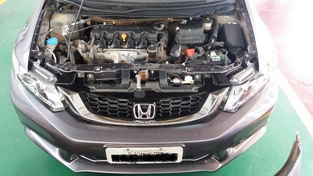 Honda Civic 2015 Completo - Muito Bonito - Foto 11
