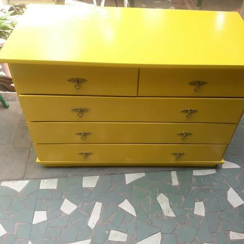 Laqueação e pinturas especiais em móveis de madeira - Foto 6