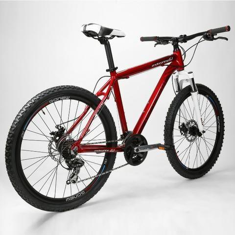Bicicleta Gonew Endorphine 6.1 Shimano Alumínio- Aro 26 - 21 - Foto 5