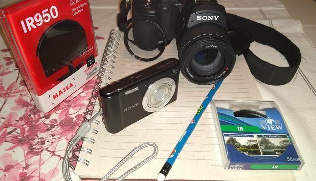 Câmera Sony F828 captura Ovnis
