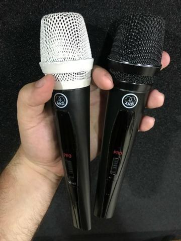 Microfone sem fio base dupla AKG - Foto 2