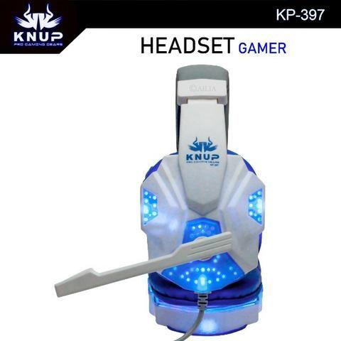 Fone Headset Gamer Led Com Microfone. Compatível:PS3, PS4, Xbox onde, Pc e celulares - Foto 2