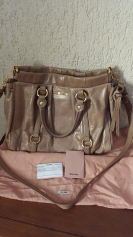 d77931c241a12 Bolsa miu miu original. - Bolsas, malas e mochilas - Vila Valqueire ...