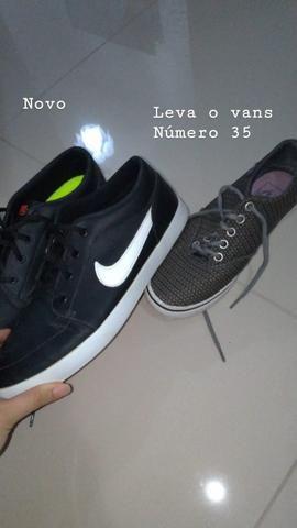 d09c59e9d8 Tênis nike preto + sapato vans - Roupas e calçados - Jardim das ...