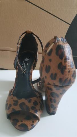 ab8780e4d Sandália em couro Mr Cat Onça tam 34 - Roupas e calçados - Jardim ...
