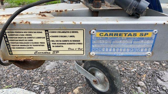 Troco por TV 65 4K - Carretinha rodoviária + Carretinha de encalhe