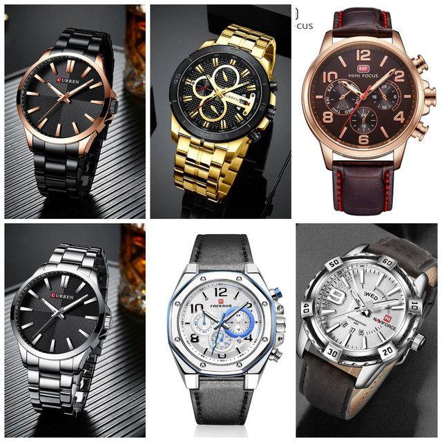 Relógios masculinos originais exclusivos - Foto 2