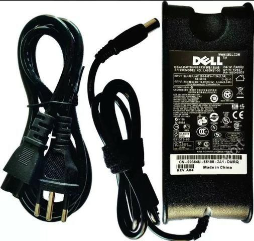 Fonte carregador p/ notebook Dell