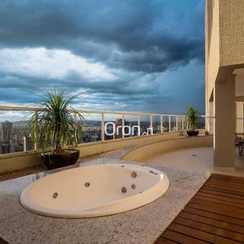 Apartamento Duplex com 2 dormitórios à venda, 145 m² por R$ 923.000,00 - Setor Oeste - Goi - Foto 5