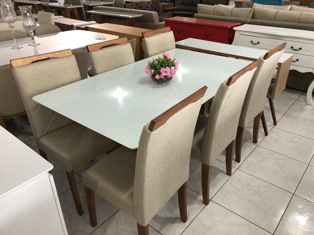 Mesa Sapucaí seis assentos nova completa - Foto 3