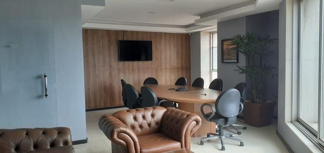 Sala mobiliada internet sem fiador e pagar e entrar r$ 999,0 coworking - Foto 11