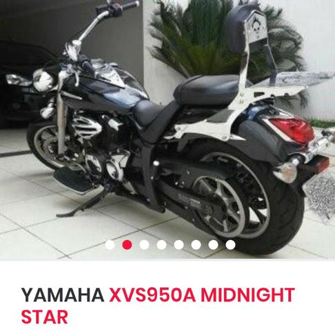 Yamaha Midnight Star XVS 950CC - Foto 9
