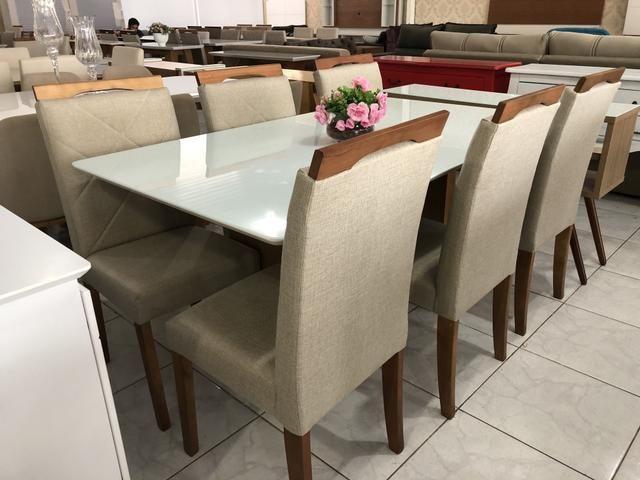Mesa Sapucaí seis assentos nova completa