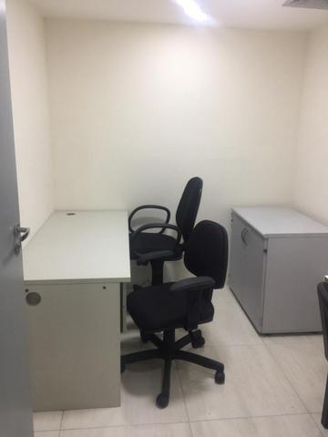 Sala mobiliada internet sem fiador e pagar e entrar r$ 999,0 coworking - Foto 2