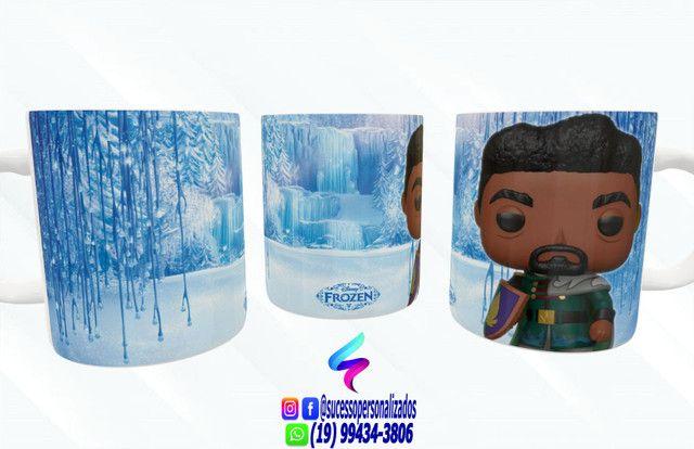 Canecas Colecionáveis Funko Pop Frozen - Foto 6